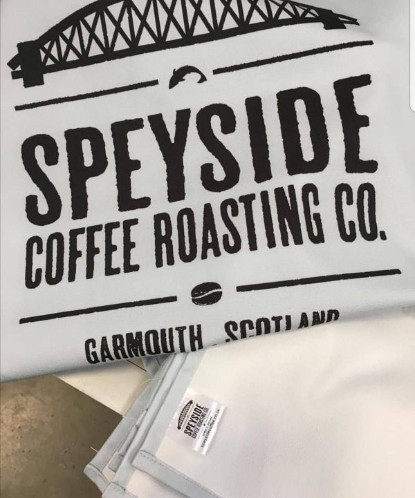 Speyside Coffee Cotton Tea Towel